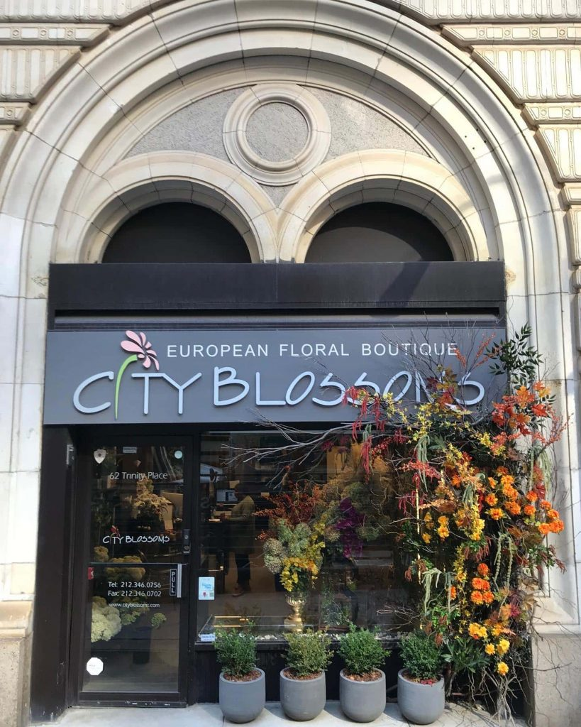 City Blossoms New York City Flower Shop