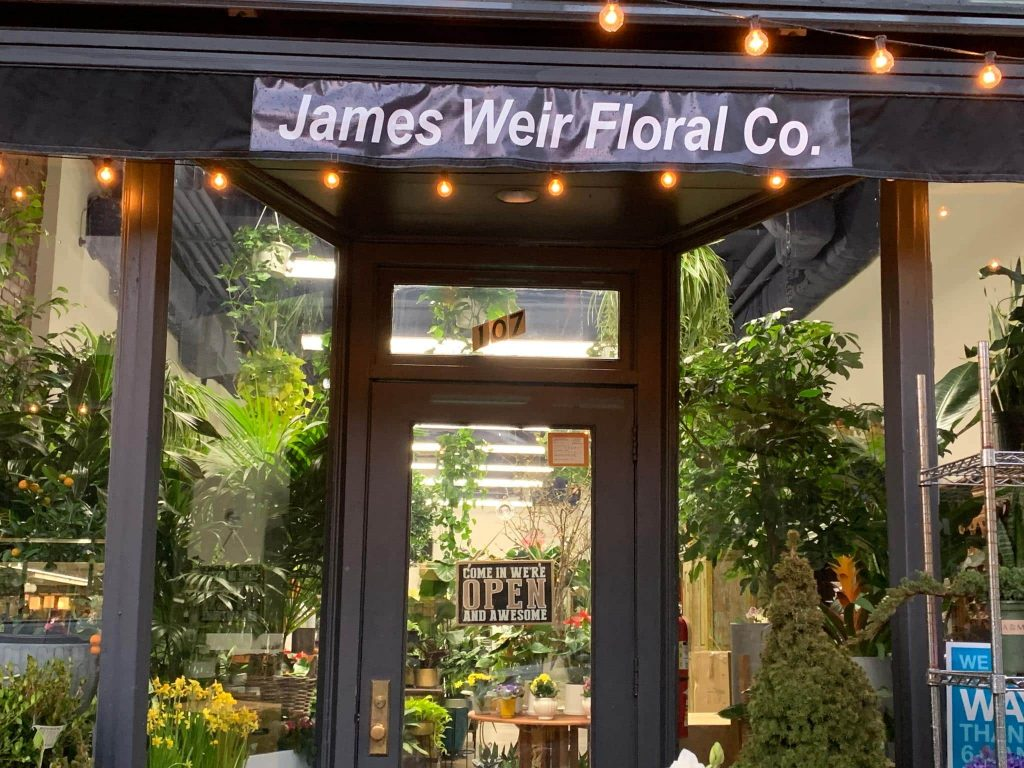 James Weir Floral Design Co New York City Florist