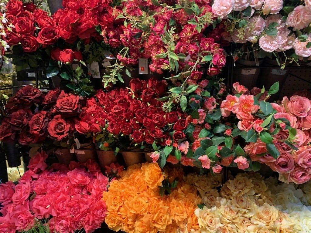 New York City Flower District Roses
