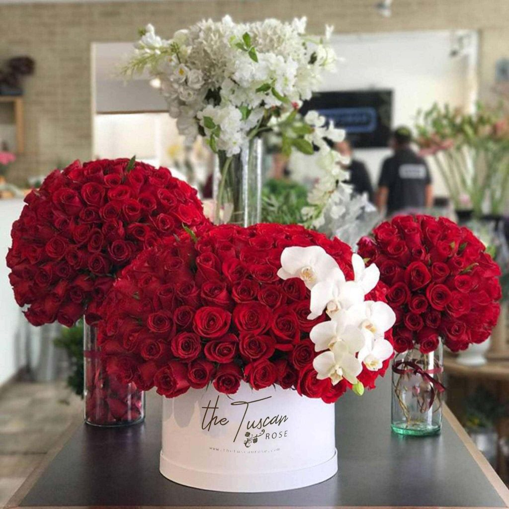 The Tuscan Rose Flower Delivery San Antonio