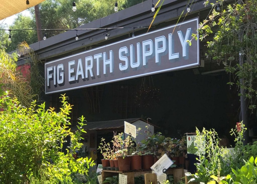 Fig Earth Supply Plant Nursery in Los Angeles