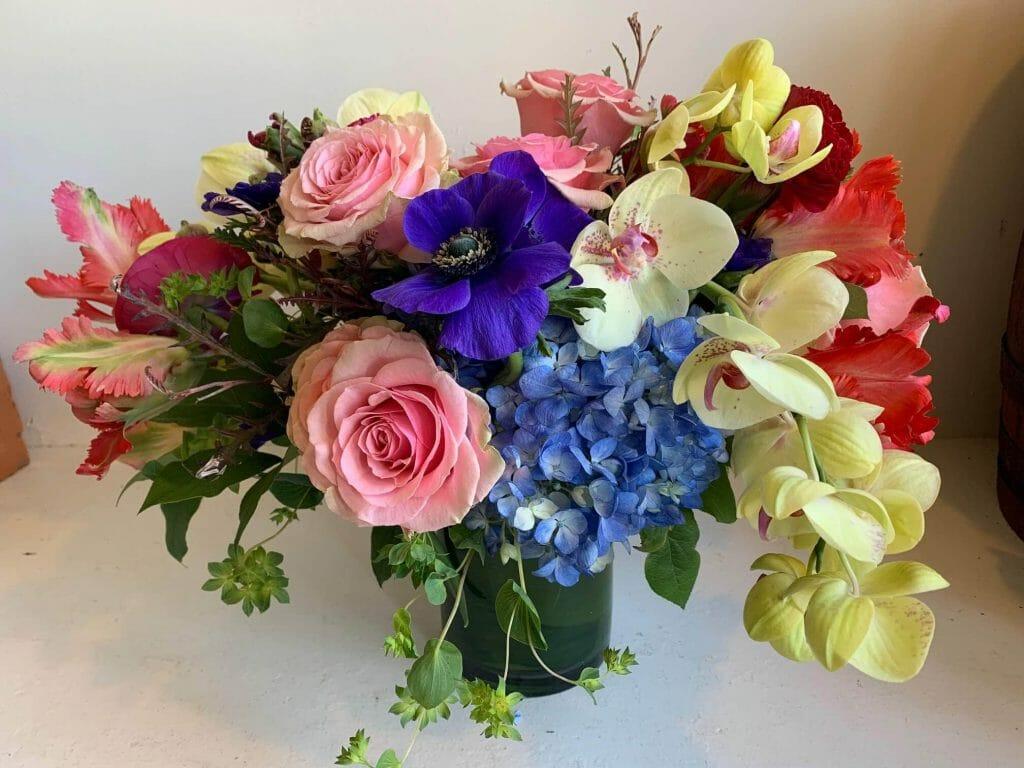 Flores Mantilla Floral Design Studio in Boston