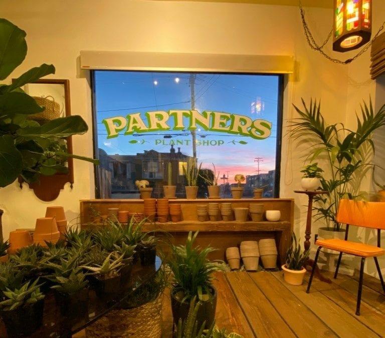Partners Plant Shop in San Francisco, California