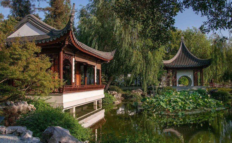 The Chinese Garden at Huntington Botanical Gardens