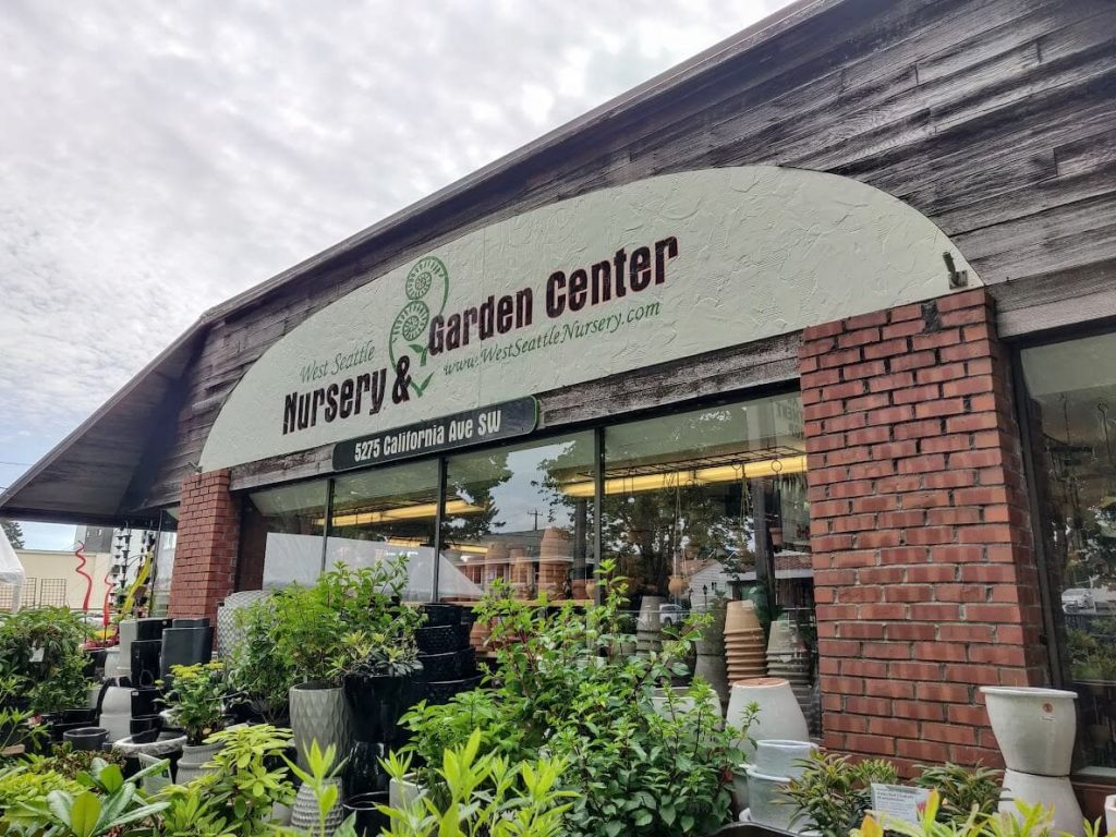 West Seattle Nursery Plant Delivery