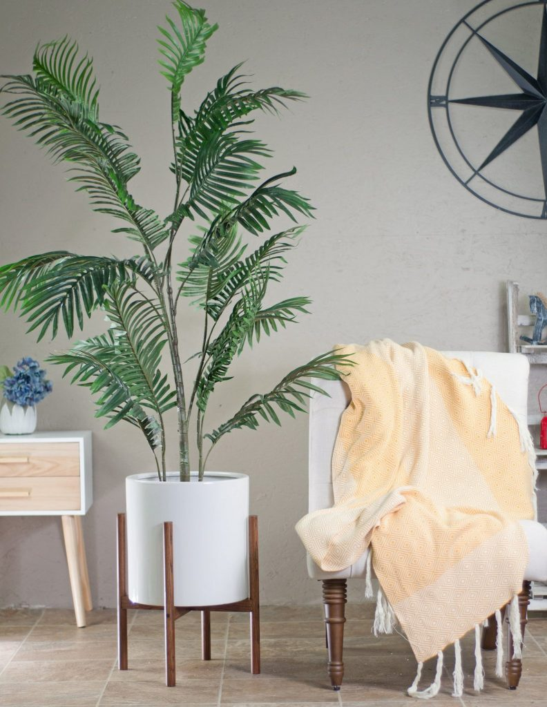 Mid-Century Modern Indoor Planter from Etsy