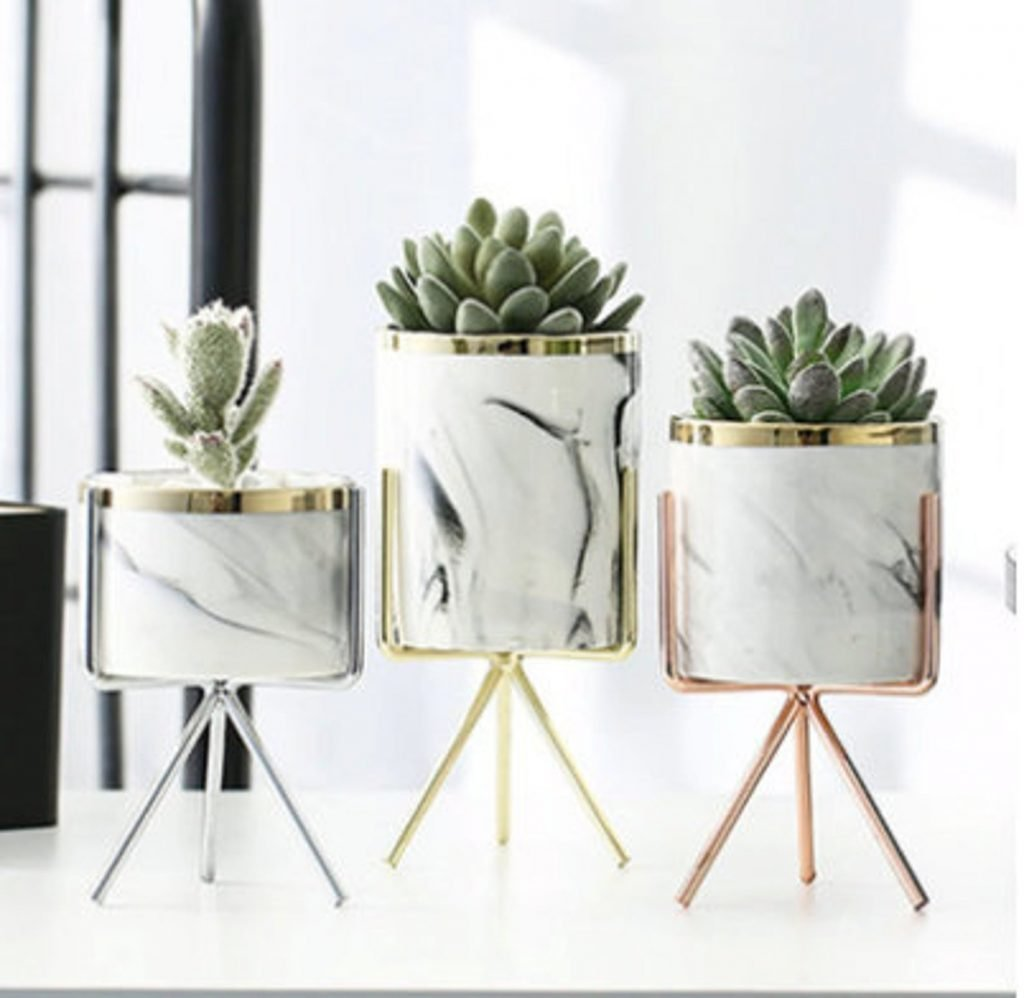 Nordic style decorative indoor planters and pots