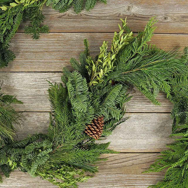 Homestead garlands for sale at The Bouqs