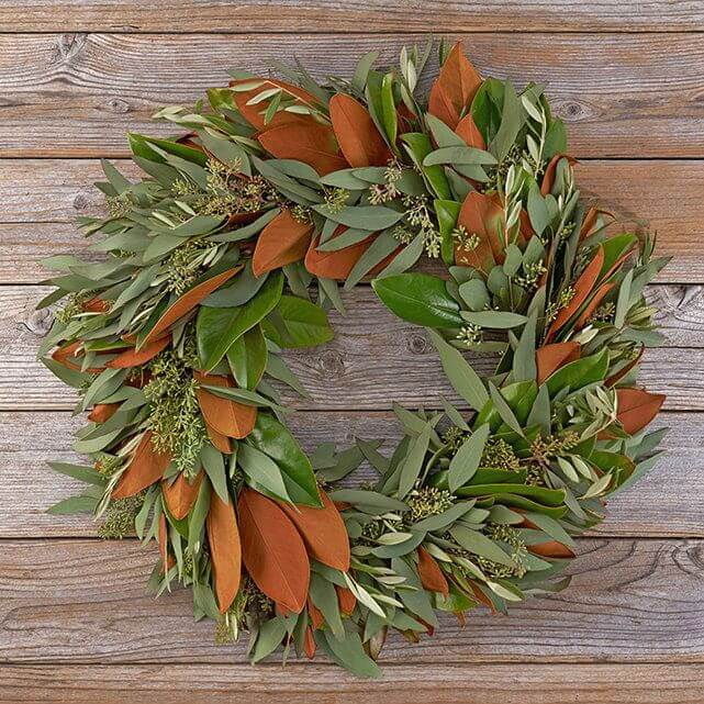 Magnolia Wreaths for sale at The Bouqs