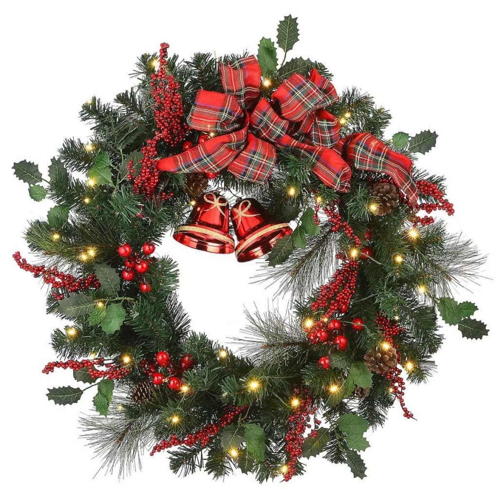 Wreaths-and-garlands-for-sale-at-Kohl's