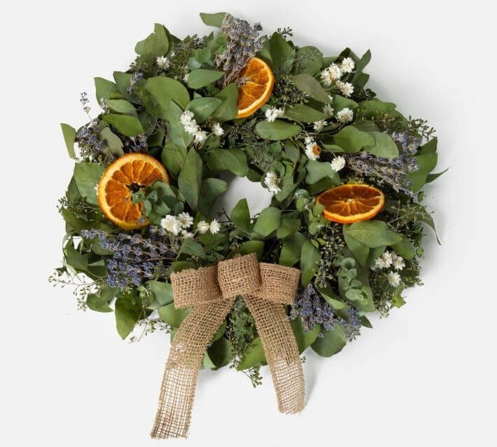 Wreaths and garlands for sale at UrbanStems