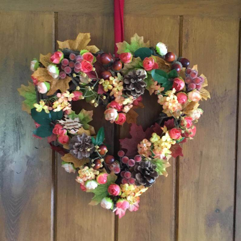 Wreaths for sale at Etsy