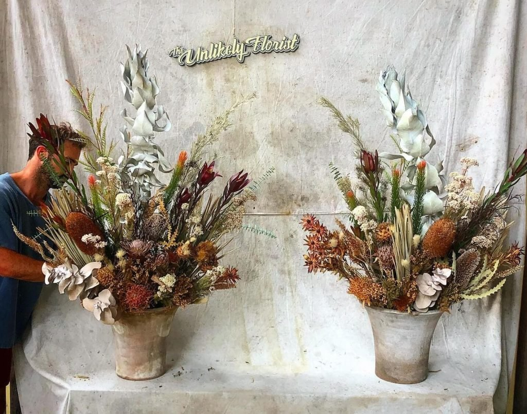 The Unlikely Florist Dried Flower Arrangements for Delivery in Los Angeles California