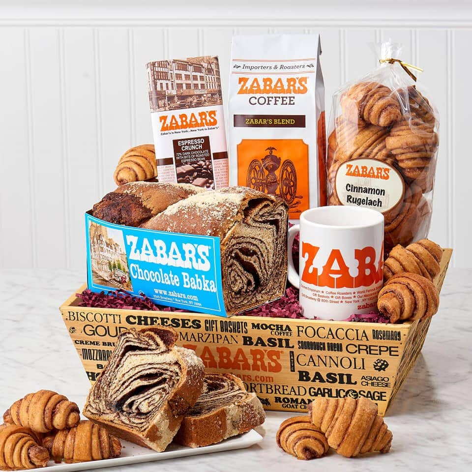 Zabar's Gift Baskets Same Day Delivery New York City