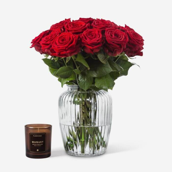 FLOWERBX Rose Arrangements for Delivery in Los Angeles, CA