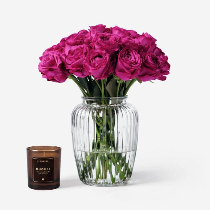 FLOWERBX Rose Flowers for Delivery in Los Angeles, CA