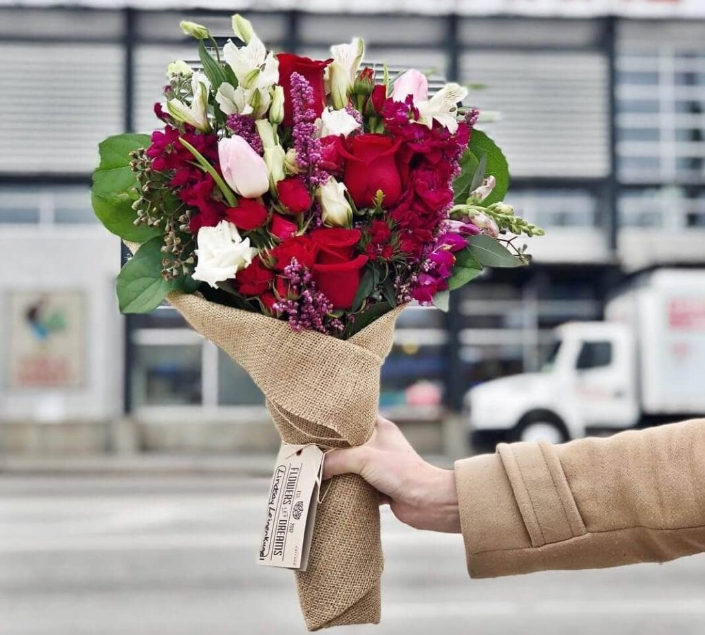 Flowers for Dreams Valentine's Day Roses Delivery in Chicago