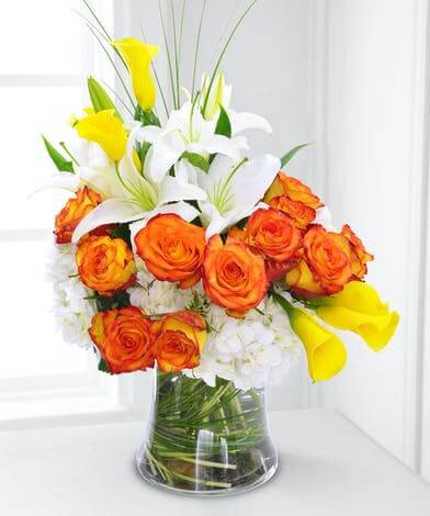 French Florist Rose Arrangements for Sale in Los Angeles and Orange County, California