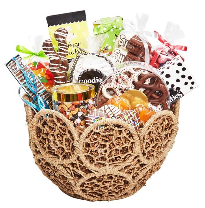 Goodies Confectionary Gift Basket Delivery in Chicago