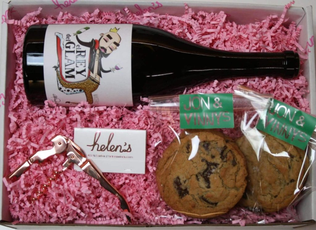 Helen's Wines Gift Boxes for Delivery in Los Angeles CA