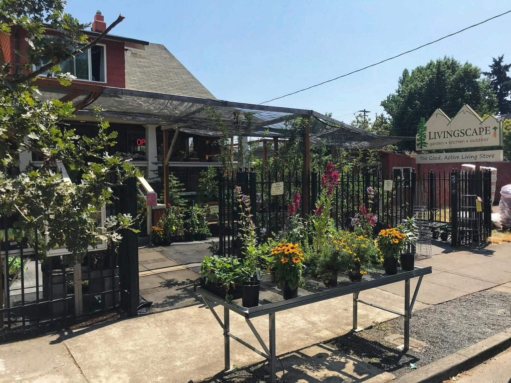 Livingscape Plant Nursery and Garden Center in Portland Oregon