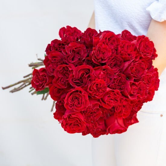 Ode a la Rose Roses Flowers for Delivery in Los Angeles, California