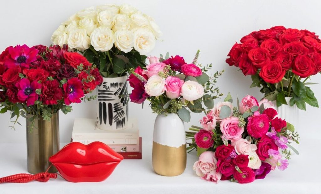 Ode a la Rose Valentine's Day Flowers for Delivery in Chicago