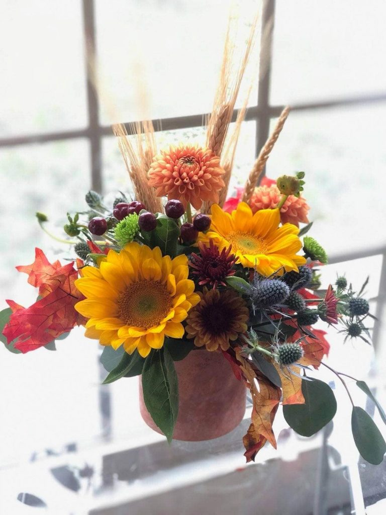 Post Road English Garden Florist in Indianapolis Indiana