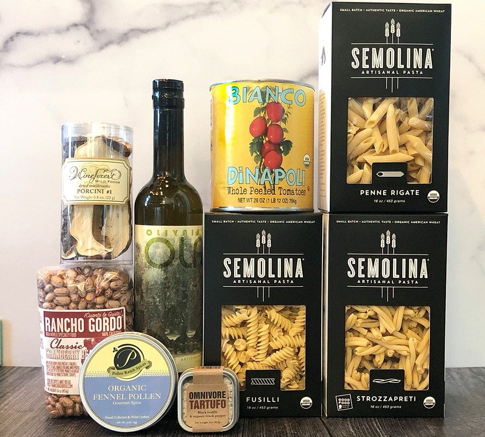 Semolina Artisanal Pastas and gift boxes for delivery in Los Angeles