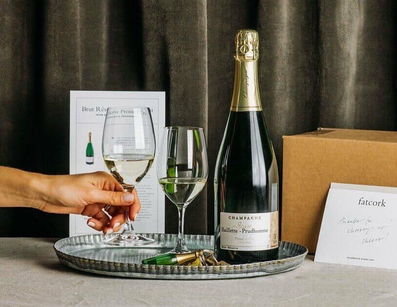 Fatcork Champagne Club and Subscription Box