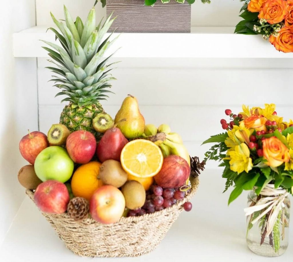 FromYouFlowers Same Day Fruit and Floral Gift Basket Delivery in San Diego