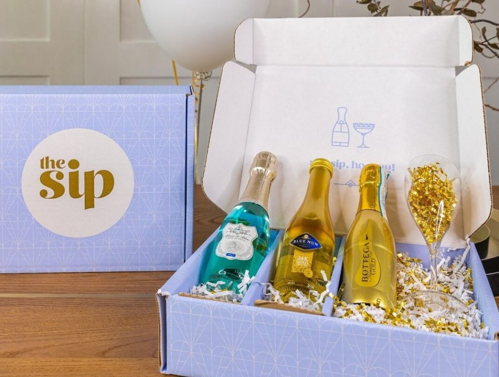 The Sip Society Champagene and Sparkling Wine Subscription Club USA