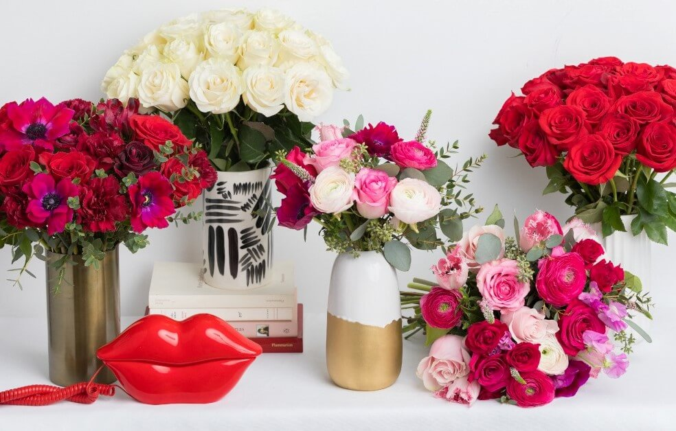 Ode a la Rose Flower Delivery in Bellflower CA