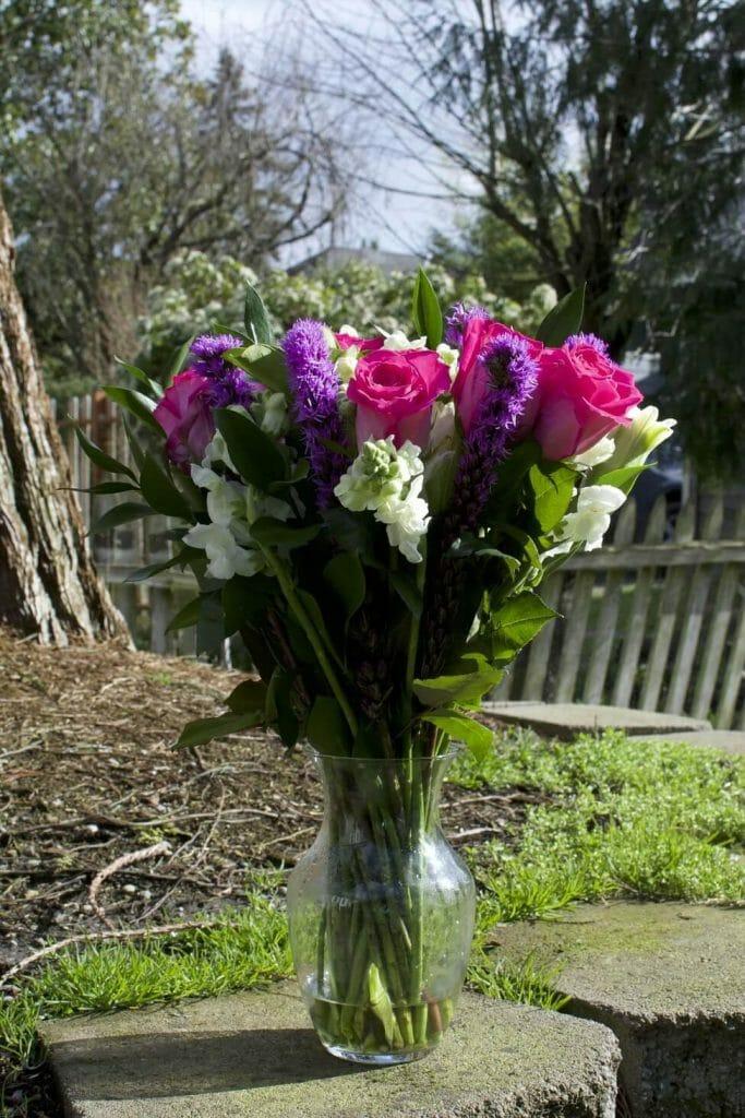 Arranged BloomsyBox Vase