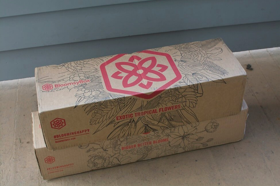 BloomsyBox Boxes on Delivery