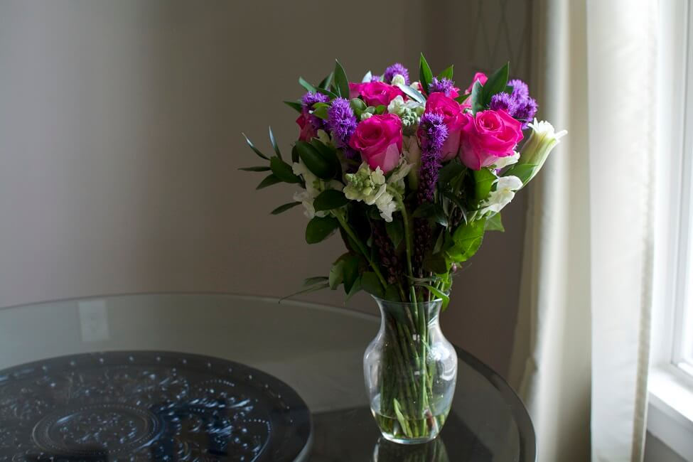 BloomsyBox Premium Pink Cupcake Arrangement at Home