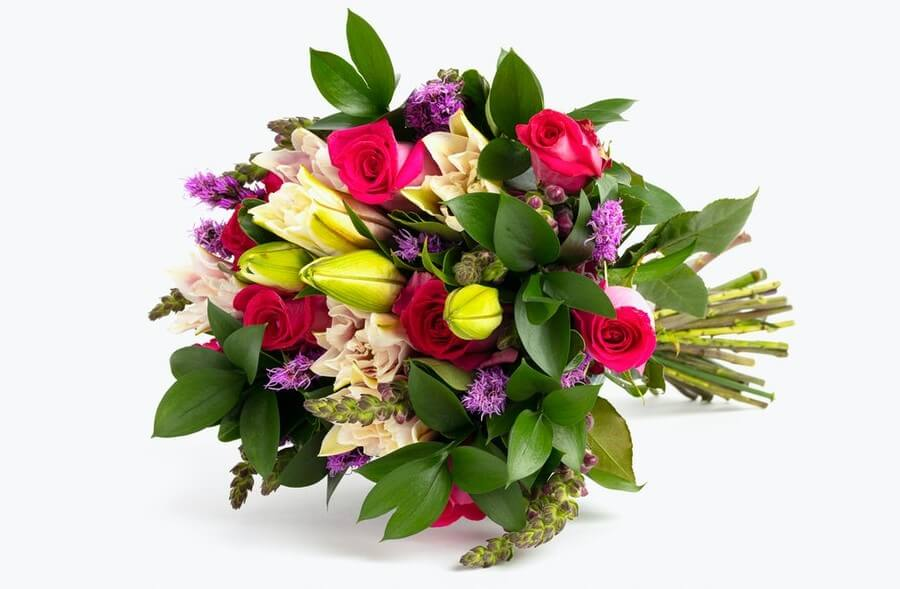 Premium Pink Cupcake Flower Arrangement from BloomsyBox