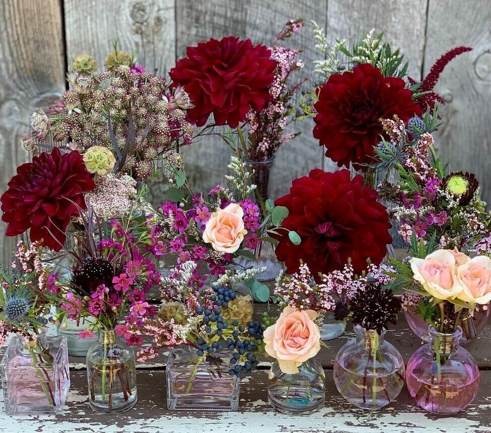 Sea Lily Floristry studio in Los Angeles County.