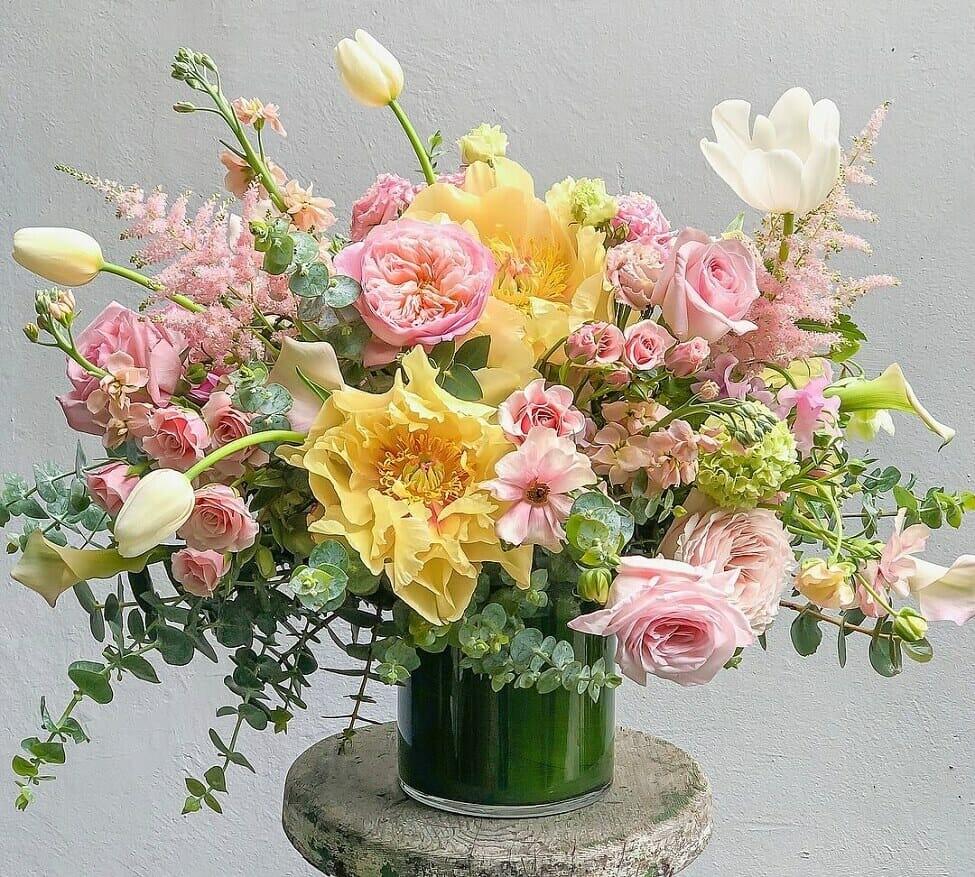 The Petal Workshop flower shop in Los Angeles County