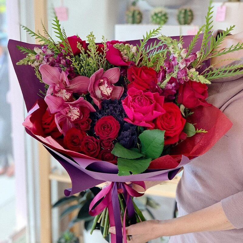 Cali Bouquet Same Day Flower Delivery in Los Angeles, California