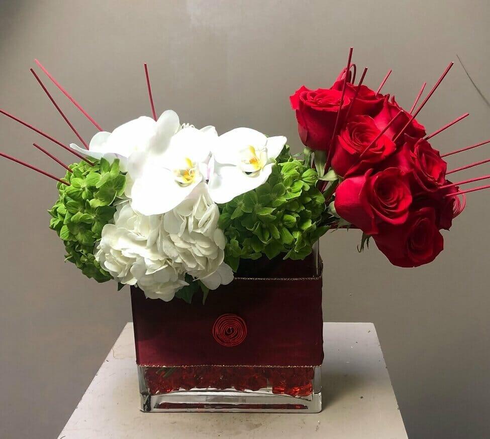 Effusive Flowers in Mar Vista, Los Angels