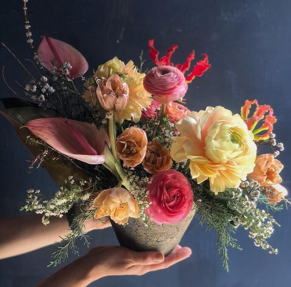 Fiore Designs flower shop in Los Angeles, California