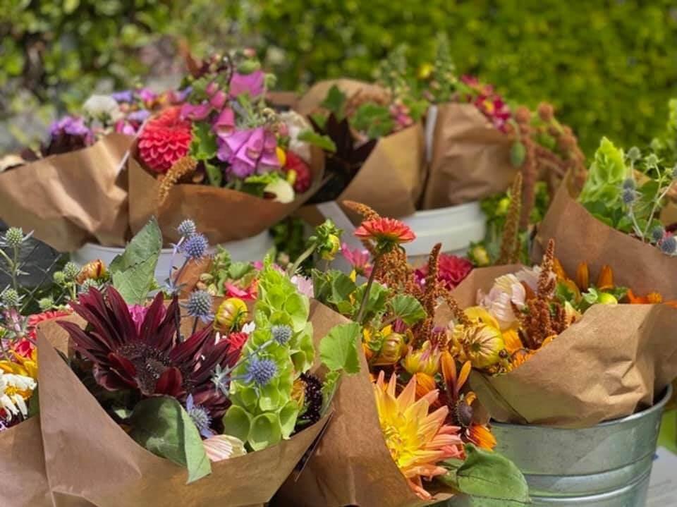 Boxcar Flower Farm in Oakland, CA