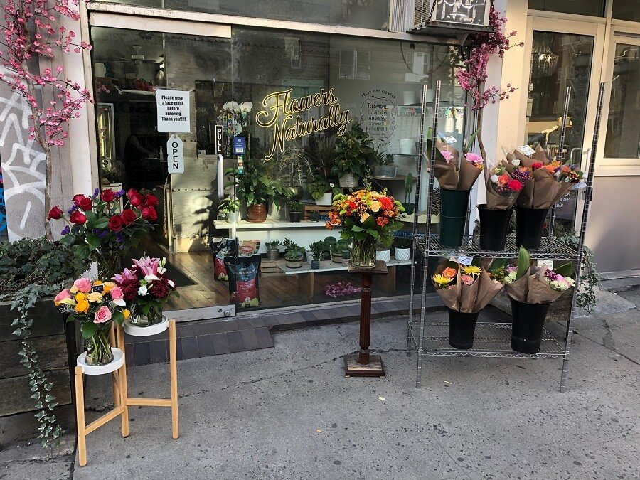 Flowers Naturally Florist in Little Italy, New York City