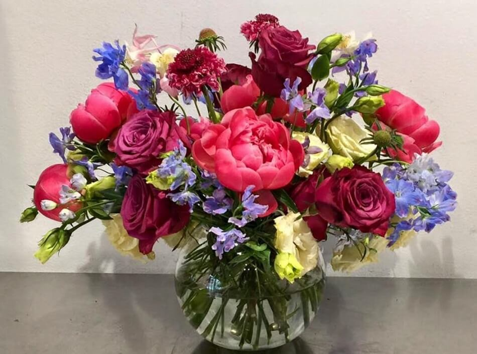 Richard Salome Flowers on the Upper East Side in NYC