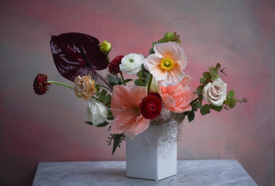 Rosehip Flower Arrangements for Delivery in NYC