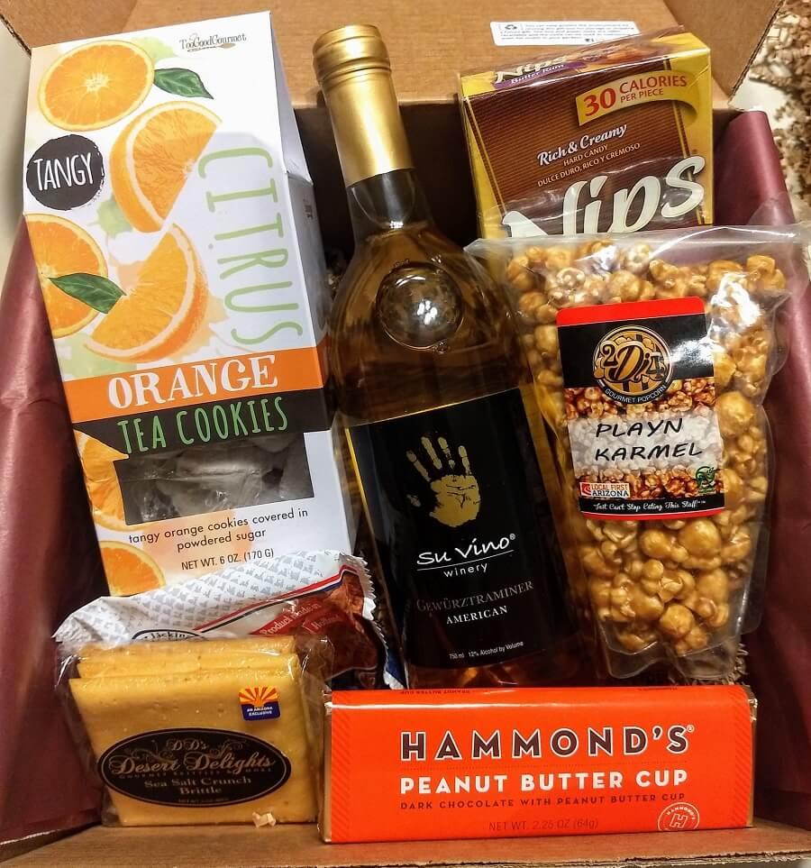 Su Vino Winery Gift Boxes in Phoenix, Arizona