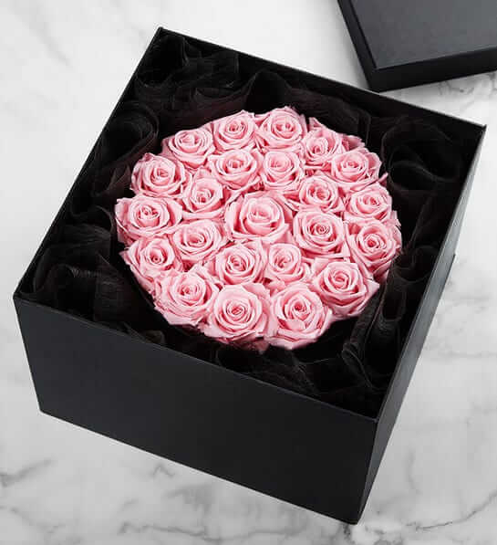 1-800 Flowers Preserved Roses Same Day Delivery