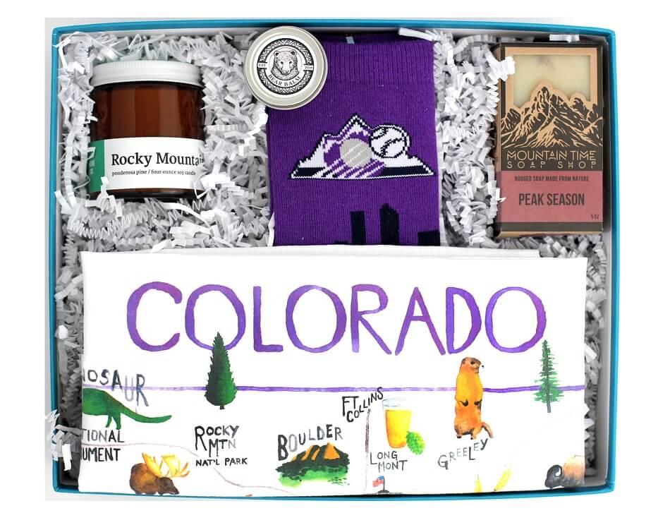 Colorado Crafted Gift Basket Delivery in Denver Colorado