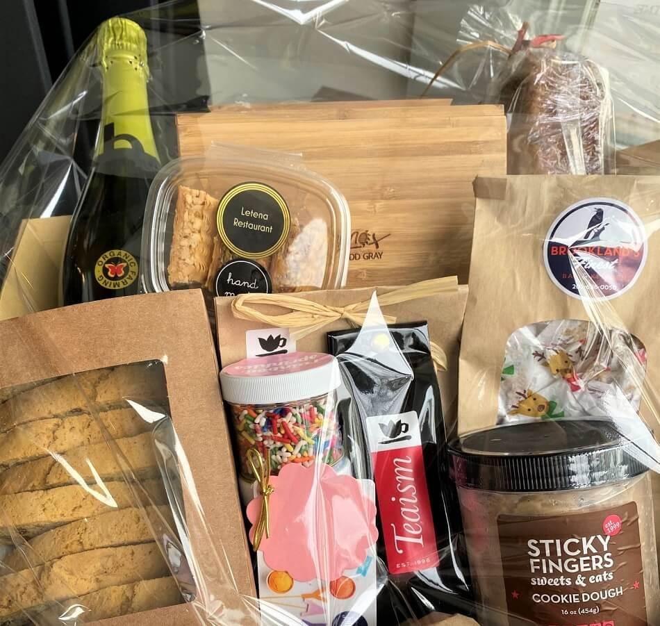 Cork Wine Bar and Market Gift Baskets in Washington DC